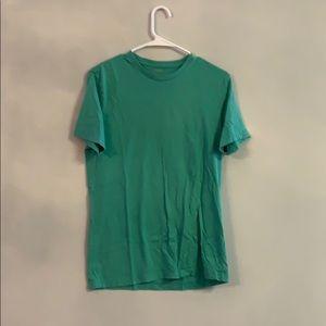 J Crew small green t shirt